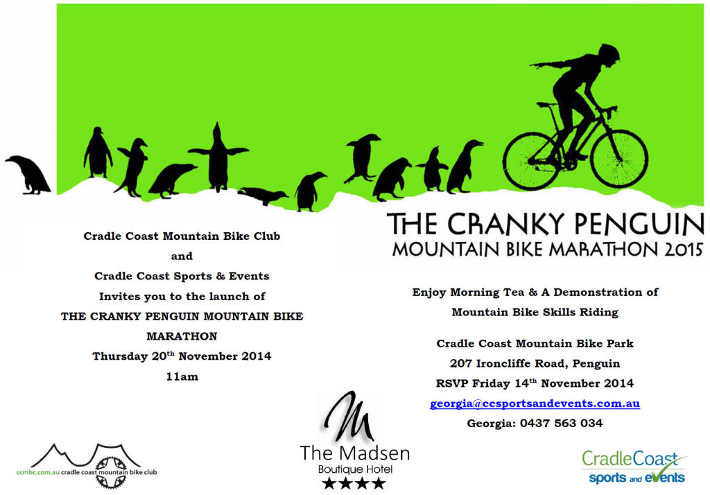 Cranky Penguin 2015 Media Launch Invitation